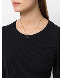Marc Jacobs | Metallic Small Lollipop Pendant Necklace | Lyst