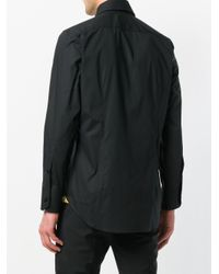 Billionaire Black Relaxed Fit Shirt for men