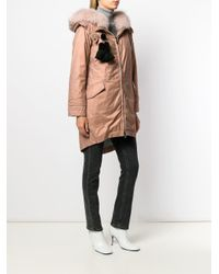 Peuterey - Pink Hooded Padded Parka - Lyst