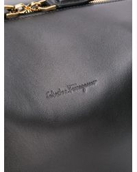 Ferragamo - Black Holdall Bag for Men - Lyst