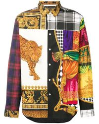 Versace - Black 'Spario' Hemd for Men - Lyst