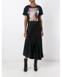 Maison Margiela - Black Printed Dress - Lyst