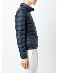 Moncler - Black Lans Basic Down Jacket - Lyst
