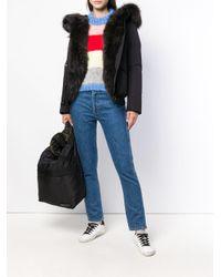 Woolrich - Black Hooded Jacket - Lyst
