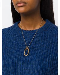 Pamela Love - Metallic Beaumont Pendant Necklace - Lyst