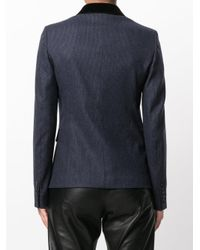 Joseph - Blue Single Button Blazer for Men - Lyst