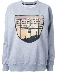 Each x Other | Gray 'limited Edition Robert Montgomery' Sweatshirt | Lyst