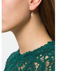 Uzerai Edits - Metallic Pearl Earrings - Lyst