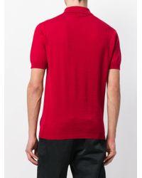 John Smedley - Red Adrian Polo Shirt for Men - Lyst
