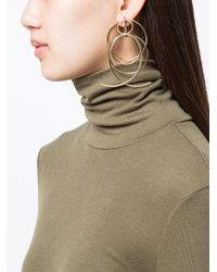 DANNIJO - Metallic Lyanna Drop Earrings - Lyst