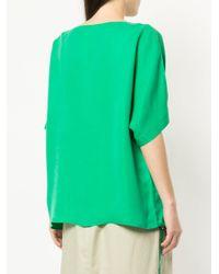 Tibi - Green Easy T-shirt - Lyst