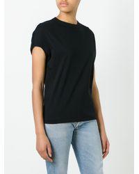 Toga - Black Cap-sleeve T-shirt - Lyst