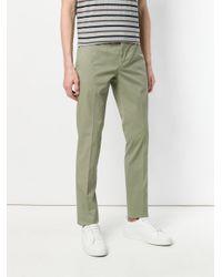 Incotex - Green Straight-leg Chinos for Men - Lyst