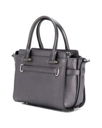 COACH - Gray Swagger 21 Tote Bag - Lyst