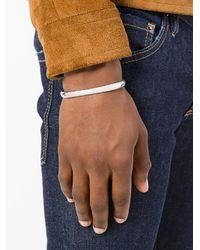 Gas Bijoux - Metallic Jonc Cuff for Men - Lyst