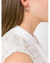 Maria Black | Metallic Disrupted 22 Earring | Lyst