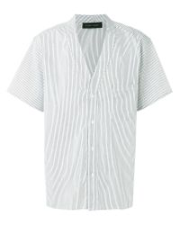 Christian Pellizzari - White Striped Baseball Shirt for Men - Lyst