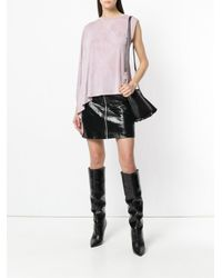 IRO - Pink One Shoulder Blouse - Lyst