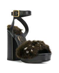 Ash - Black Beluga Sandals - Lyst