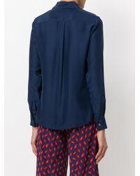 P.A.R.O.S.H. - Blue Classic Shirt - Lyst