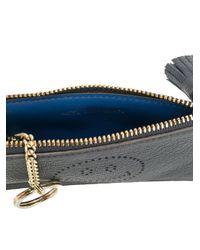 Anya Hindmarch - Black Smiley Card Key Case - Lyst