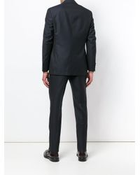 Canali - Blue Two Piece Suit for Men - Lyst