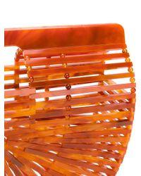 Cult Gaia - Orange Ark Clutch Bag - Lyst
