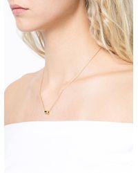 Miansai - Metallic Small Placket Necklace - Lyst