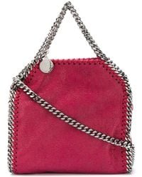 Stella McCartney - Multicolor Chain Embellished Shoulder Bag - Lyst