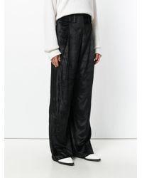 Damir Doma - Black Wide-leg Trousers - Lyst