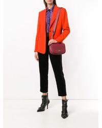 Bottega Veneta - Red Bv Luna Crossbody Bag - Lyst