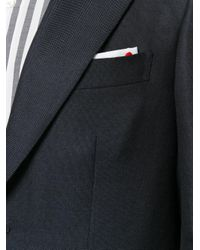 Kiton - Blue Classic Fitted Blazer for Men - Lyst