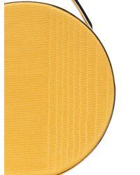 Eddie Borgo - Yellow Mini Wood Print Circle Tote - Lyst
