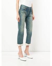 Tu Es Mon Tresor - Blue Ankle Ribbon Antique Jeans - Lyst