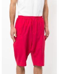 Yoshiokubo - Pink Sapeur Shorts for Men - Lyst