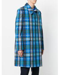 AMI - Blue Car Coat for Men - Lyst