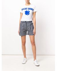 P.A.R.O.S.H. - White Lucky Shirt T-shirt - Lyst