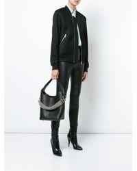 Alexander Wang Black Genesis Mini Hobo Bag