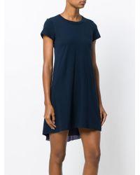 Sacai Blue T-shirt Dress