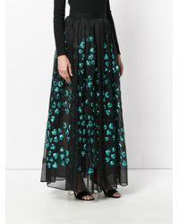 Elie Saab | Black Fil Coupe Skirt | Lyst