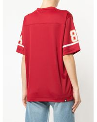 Hysteric Glamour - Red American Football T-shirt - Lyst