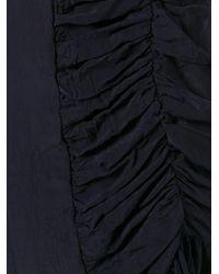 Marni - Blue Asymmetric Ruched Dress - Lyst