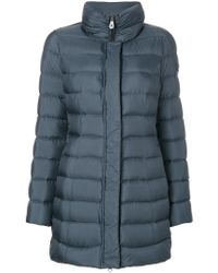 Peuterey - Blue Down Coat - Lyst