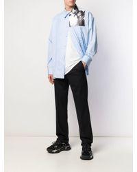 Raf Simons Black Straight-leg Tailored Trousers for men