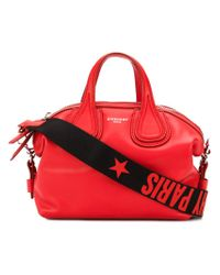 Givenchy - Red Small Nightingale Tote - Lyst