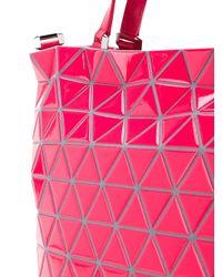 Bao Bao Issey Miyake - Pink Crystal Gloss Tote - Lyst