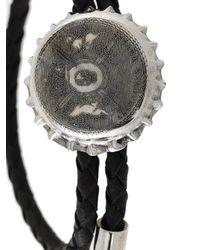 Alexander McQueen - Black Skull Bottle Cap Bracelet for Men - Lyst