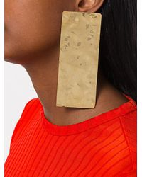 Marques'Almeida - Metallic Earrings - Lyst