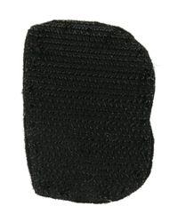 Olympia Le-Tan - Black Alphabet Patch - Lyst
