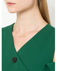 Petite Grand - Metallic Wave Necklace - Lyst